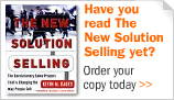 Have you read the New Solution Selling yet?
